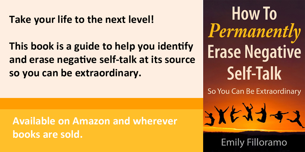 """HOW TO PERMANENTLY ERASE NEGATIVE SELF-TALK: SO YOU CAN BE EXTRAORDINARY"" RELEASED BY NEW CHAPTER PRESS"